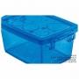 Caixa Organizadora Com Trava 30 Litros Azul Ordene
