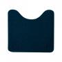 Jogo de Tapete para Banheiro Relevo 3 Peças Azul Marinho Oasis