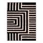 Tapete para sala 1,50 x 2,00 Art Desenho 01 Preto Oasis
