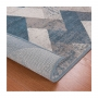 Tapete para Sala Design Rústico Belga Stillo 100 x 140cm Des 17