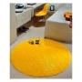 Tapete para Sala Redondo 1,50 Classic Amarelo Oasis