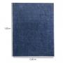 Tapete Passadeira 50 x 1,00 Classic Azul Jeans Oasis