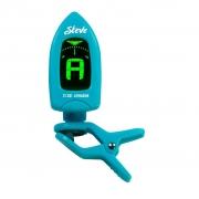 Afinador de Clip Digital Cromático Steve ST-201 (Azul)