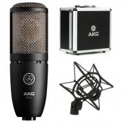 AKG Microfone Condensador Perception 220 (Com Aranha/Case)