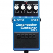 BOSS Pedal de Efeito para Guitarra Compression Sustainer CS-3