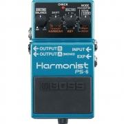 BOSS Pedal de Efeito para Guitarra Harmonist PS-6
