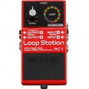 BOSS  Pedal de Efeito para Guitarra Loop Station RC-1