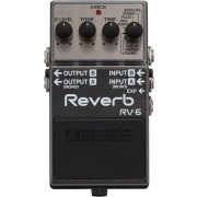 BOSS Pedal de Efeito para Guitarra Reverb RV-6