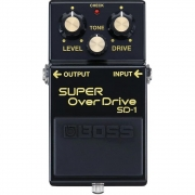 BOSS Pedal de Efeito para Guitarra Super OverDrive SD-1-4A