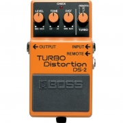 BOSS  Pedal de Efeito para Guitarra Turbo Distortion DS-2