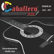 Encordoamento para Violão Aço Caballero 010-047 EVACM