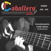 Encordoamento para Violão Nylon Caballero 028-043 EVNCM