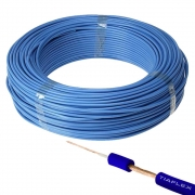 Cabo para Instrumento Tiaflex 1x0,20mm² Azul (1 Metro)