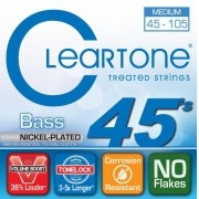 Encordoamento para Contrabaixo 4 Cordas Cleartone 045-105 Nickel-Plated