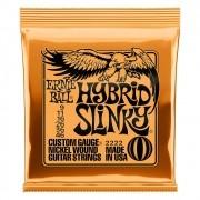 Encordoamento para Guitarra Ernie Ball 009-046 Hybrid Slinky - 2222