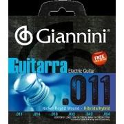 Encordoamento para Guitarra Giannini 011-054 Hybrid  ? GEEGSTH11