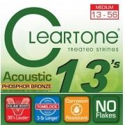 Encordoamento para Violão Aço Cleartone 013-056 Phosphor Bronze
