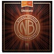 Encordoamento para Violão Aço D'Addarío 010-047 - NB 1047 (Nickel Bronze)