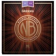 Encordoamento para Violão Aço D'Addarío 011-052 - NB1152 (Nickel Bronze)