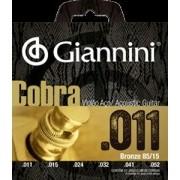Encordoamento para Violão Aço Giannini 011-052 ? GEEFLK