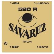 Encordoamento para Violão Nylon Savarez 520R (Hard Tension)
