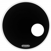 Evans Pele Resposta para Bumbo 22? EQ3 Reso Black RD22RB