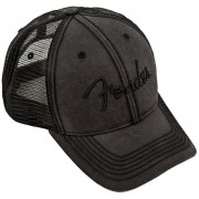 Fender Boné Logo Blackout Trucker