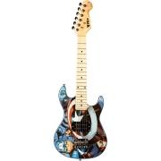 Guitarra Strato Infantil Phoenix GMC-K2 (Capitão América)
