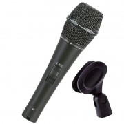 Microfone Dinâmico Condensador Kadosh K-80C (Com Cachimbo)