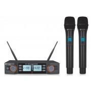 Kadosh Microfone Sem Fio Duplo K-492M (UHF/Digital)