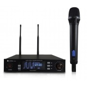 Kadosh Microfone Sem Fio K-901M (UHF/Display Digital)