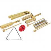 Kit de Percussão Infantil Liverpool INF01 (Com 6 Peças)