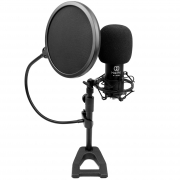 Kit para Studio Mak Pro MK-700CUSM (Microfone Condensador USB + Acessórios)