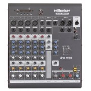 LL Audio Mixer Millenium MX602R (6 Canais/USB/Cartão SD/Bluetooth)