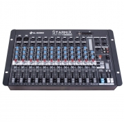 LL Audio Mixer Starmix S1202D BT (12 Canais/USB/Cartão SD/Bluetooth)