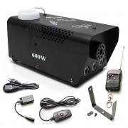Máquina de Fumaça 600w com LED RGB (110v/Com Controle Sem Fio)