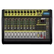 Mesa de Som Amplificada SKP VZ-100 II (10 Canais/500w/MP3/USB/SD/Bluetooth)
