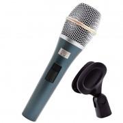 Microfone Dinâmico Com Fio Kadosh K-98 (Com Cachimbo)