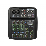 Mixer Compacta Custom Sound CMX4C (4 Canais/Com Interface USB)
