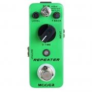 Mooer Mini Pedal De Efeito para Guitarra Repeater MDL1