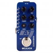 Mooer Mini Pedal De Efeito para Guitarra Reverb A7 (com 7 Efeitos Clássicos e Psicodélicos)