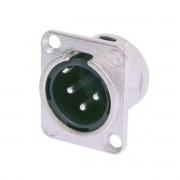 Neutrik Conector de Painel XLR Macho NC3MDL1