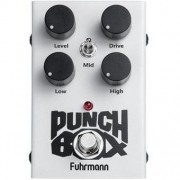Fuhrmann Pedal de Efeito para Guitarra Distortion Punch Box PB02