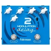 Fuhrmann Pedal de Efeito para Guitarra Modulation Delay 2 MD-2