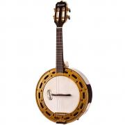 Rozini Banjo Eletroacústico RJ12.EL.N.J Natural
