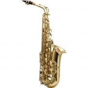 Saxofone Alto Harmonics HAS-200L MÍ BEMOL Laqueado Dourado (Com Estojo)