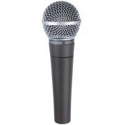 Shure Microfone Dinâmico Cardióide SM58-LC (Bag/Cachimbo)