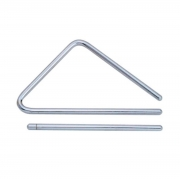 Triângulo de Aço Cromado Torelli TL602 (15 cm)