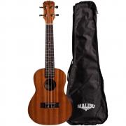 Ukulele Concert Malibu 23S (Com Capa)