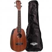 Ukulele Elétrico Abacaxi Concert Malibu 23SP-EQ (Com Capa)